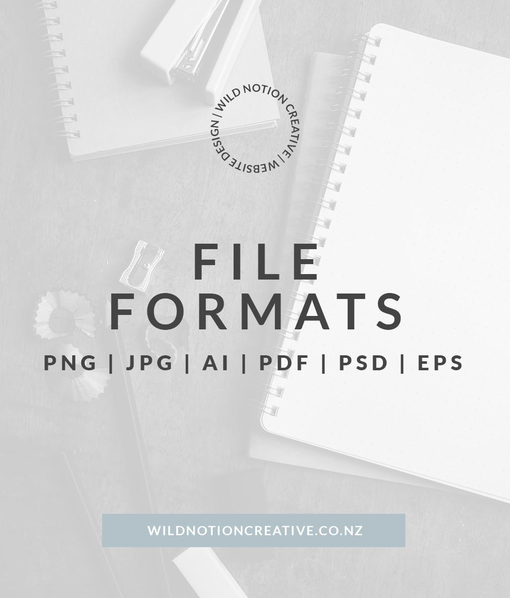 Graphic Design File Formats